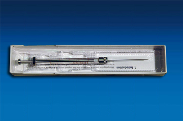 00301-19016 Syringe, 500 µL, Gas Tight, Removable Needle