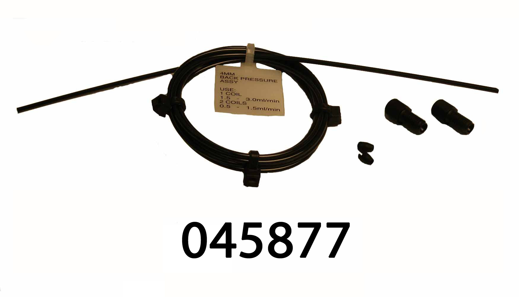 045877 Backpressure coil for 4 mm suppressor