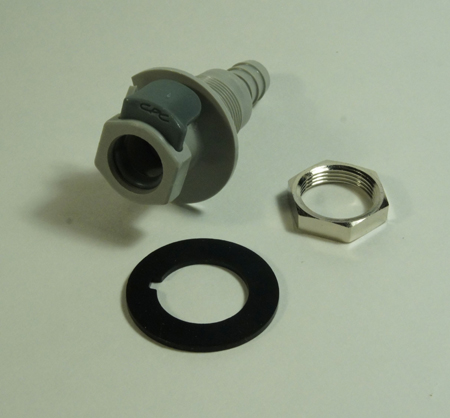 1138960 Snap, Coupling 9, 6 mm, Bulkhead